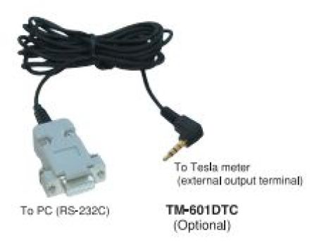 Digital Signal Output Cable for Tesla Meter (TM-601DTC) 1