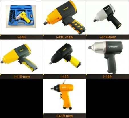 """AIR IMPACT WRENCH (1/2"""" TWIN HAMMER MECHANISM) 3"""