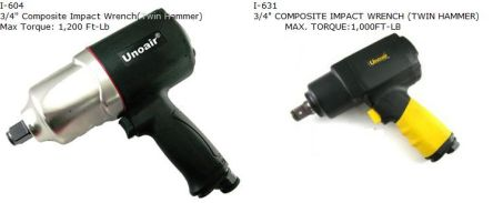 "AIR IMPACT WRENCH (3/4"" HEAVY DUTY) 4"