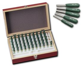 Carbide Pin Gauge w Handle Set TAG series
